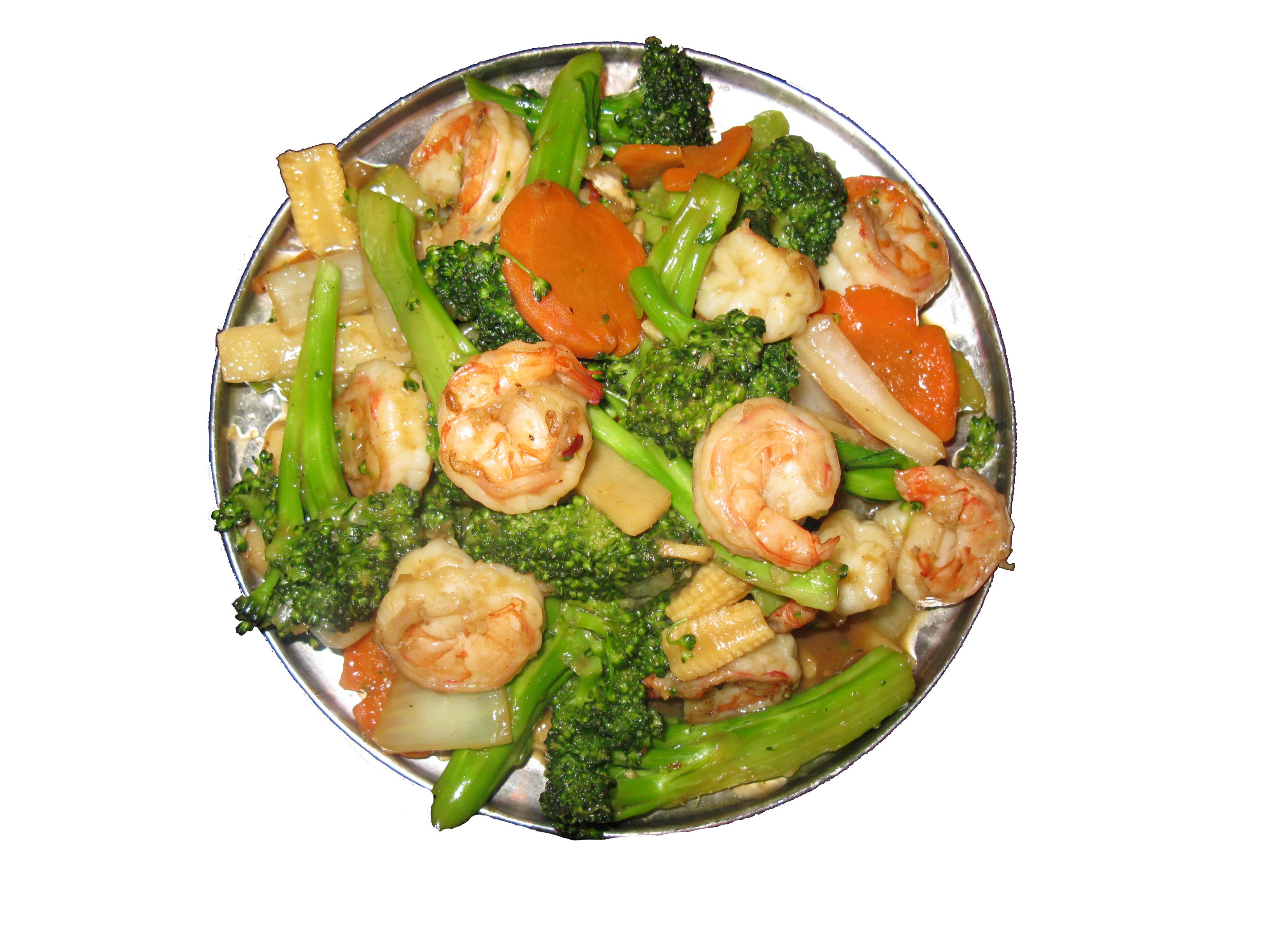 Shrimp Szechuan - Cunard Restaurant