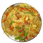 singapore rice noodles - cunard restaurant