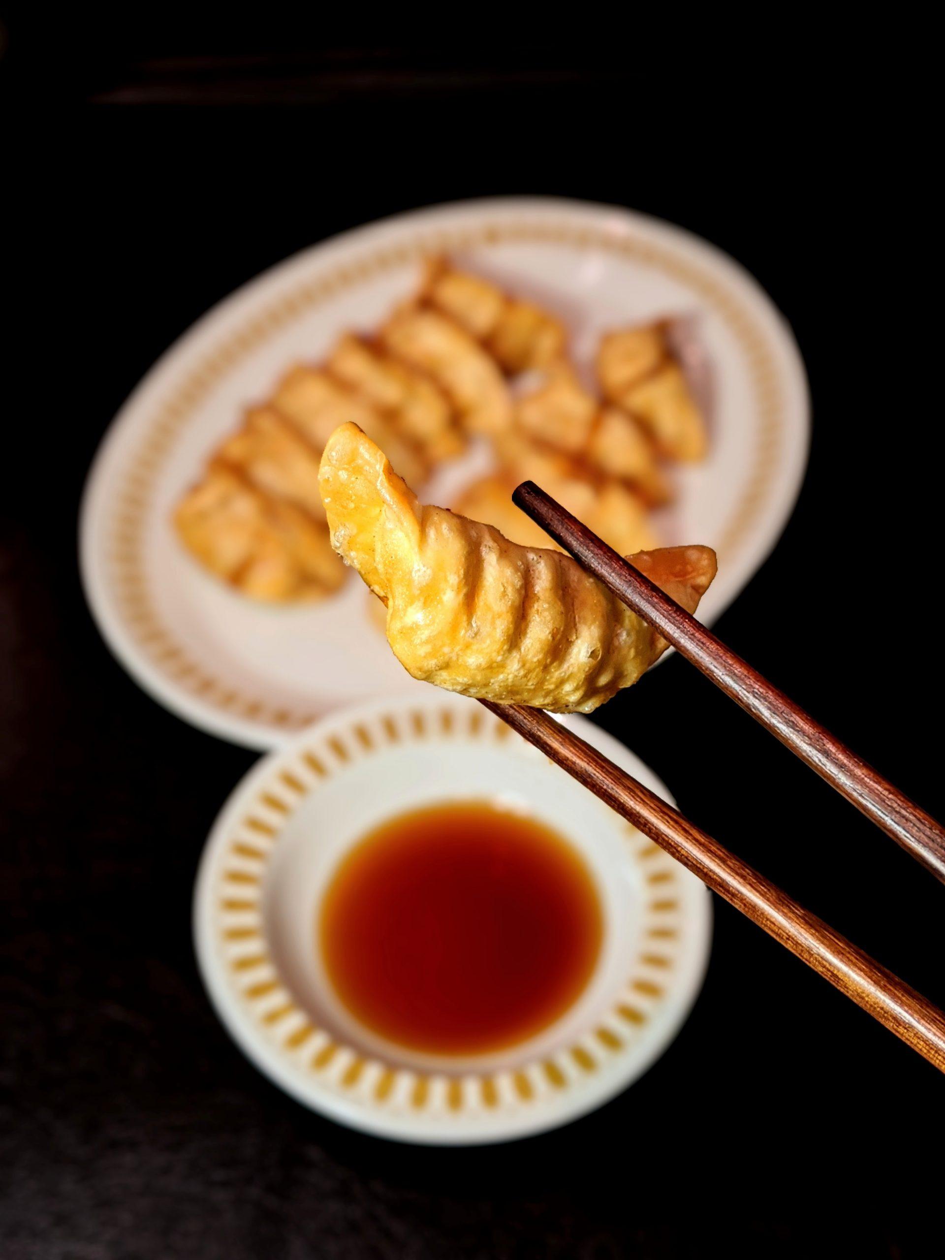 cunard restaurant - deep fried dumplings